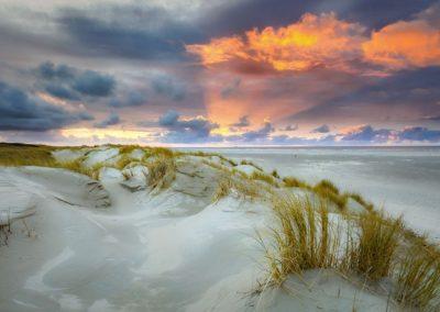 Méditation guidée «coucher de soleil sur la dune»
