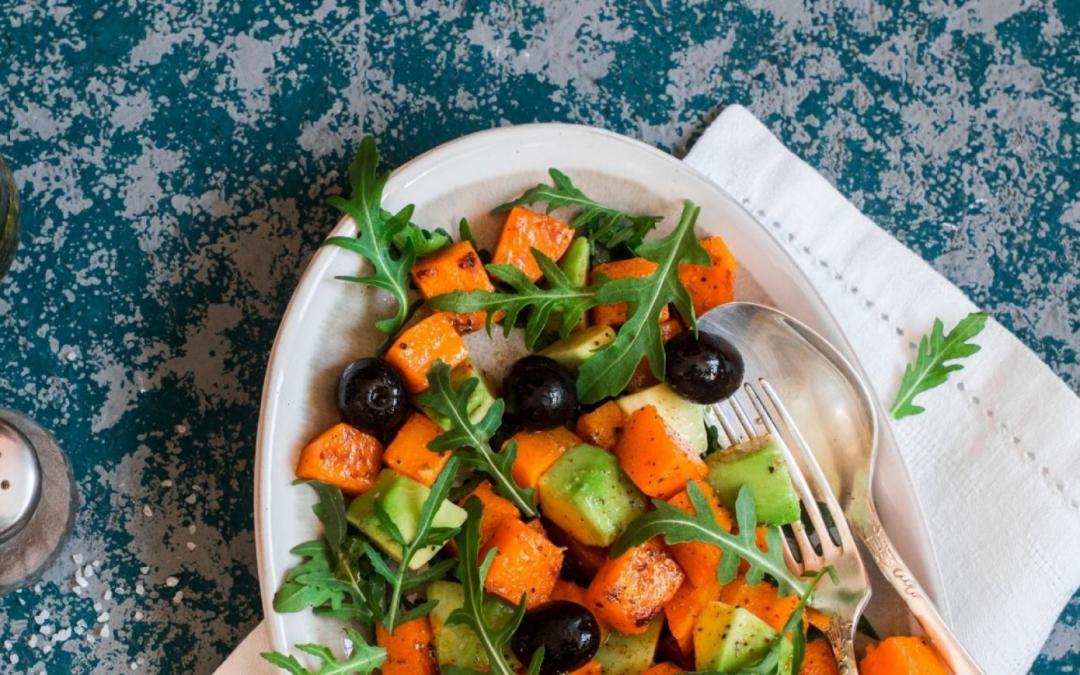 Salade de Patates douce et Avocat