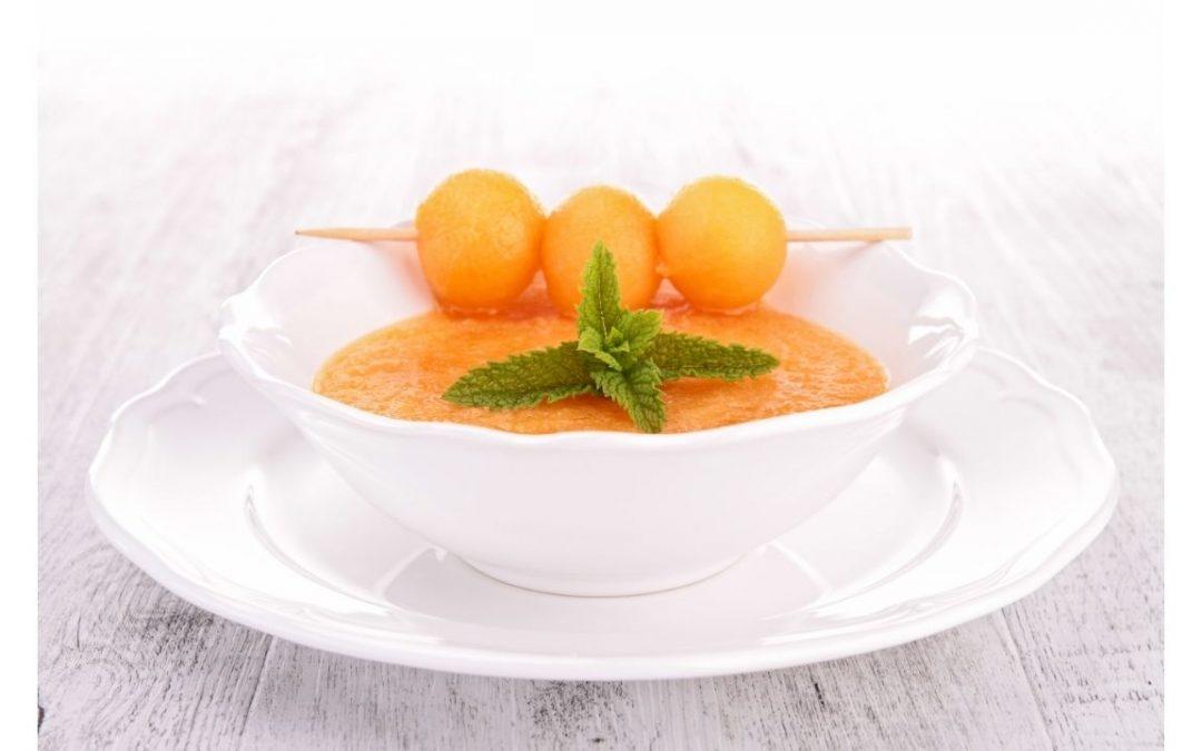 Soupe glacée de Melon