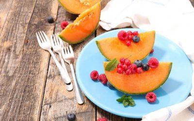 Tarte de Melons aux Fruits rouges